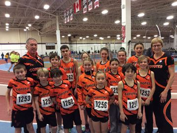 Meaford Coyotes win 12 medals at meet