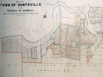 Huntsville in 1901