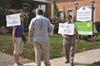 Orangeville protest