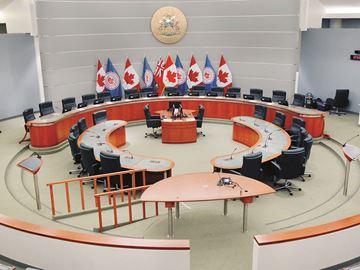 Markham Council Chambers