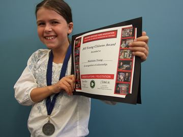 Orillia student earns a shot at national recognition