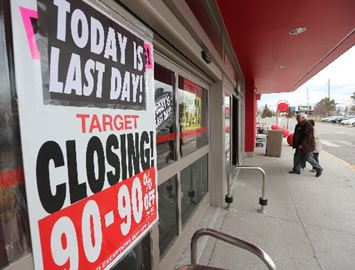Target closing
