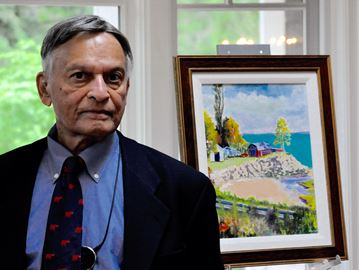 Retired Oakville surgeon 'always aspired to become an artist'