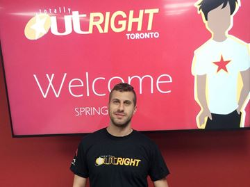 Vincent Francoeur is the program coordinator for Totally OutRIGHT.