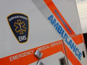 Durham Region paramedic ambulance