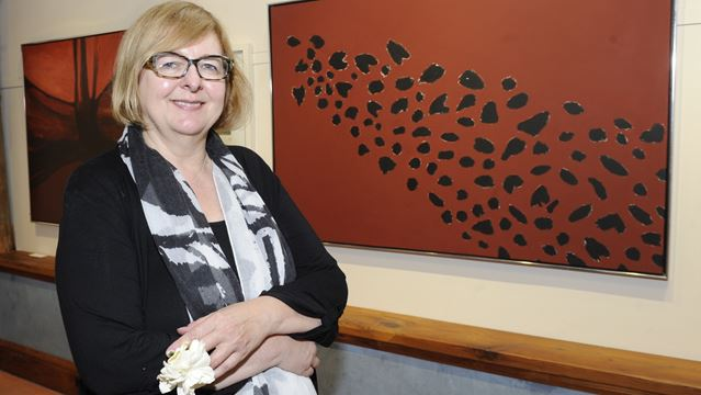Exhibit celebrates Oakville artist Gloria Marshall's life work