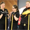Gryphon curling women at CIS championships