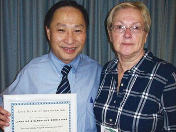 Sandy Cove pharmacist honoured