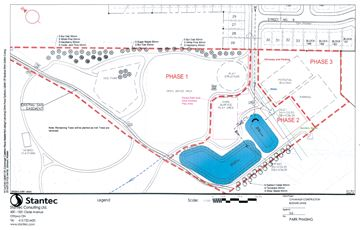 Roy Brown Park phases