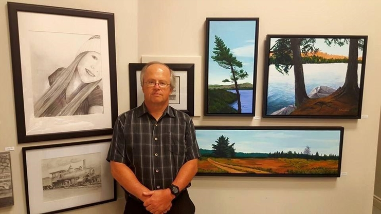 Lifetimes: Dennis Merchant became devoted to his art