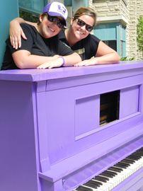 #PurplePiano