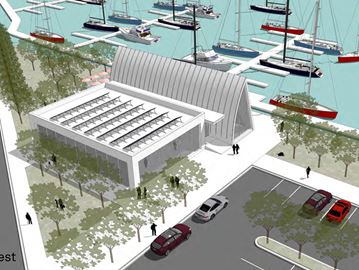 Brewpub, splash pad, marina included in concept plan for Collingwood's waterfront