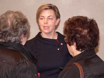 Conservative Party leadership contender MP Kellie Leitch
