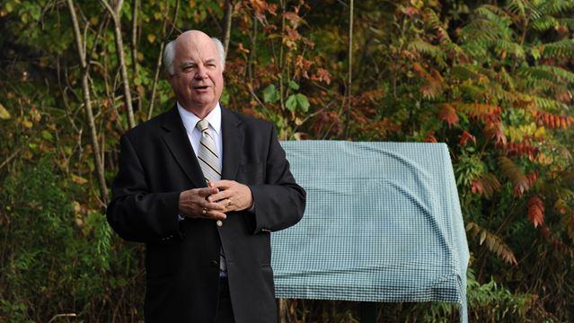 Burlington councillor honoured for long service