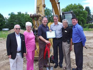 Victoria Place condo development in Alliston breaks ground