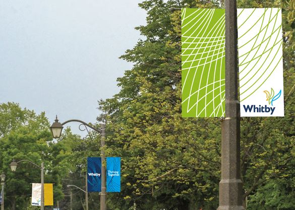 Whitby approves new town logo