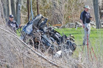 Serious collision closes Hwy. 9