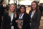 Milton District High School DECA team