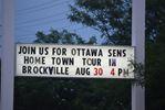 Ottawa Senators tour to stop in Brockville