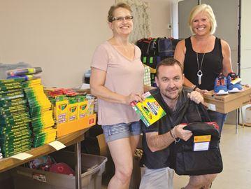 Community Care holds back to school program