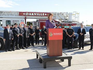 Oakville North-Burlington MP calls for national strategy for dealing with PTSD among first responders