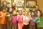 Collingwood little rock curlers earn badges
