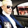 Jared Leto dyes hair platinum blonde-Image1