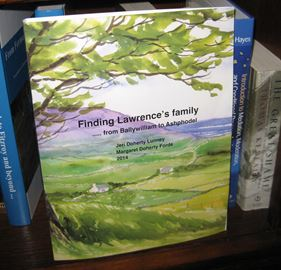 'Finding Lawrence's family from Ballywilliam to Ashphodel'
