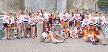 More than 30 Cambridge Turbos took part in the recent Ringette Day at Canada's Wonderland, hosted by Ringette Canada in support of the sport's 50th anniversary. More than 750 ringette players and parents took part in the event. Associations across Canada will be hosting various events this coming ringette season to celebrate the milestone.