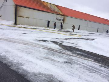 Parry Sound airport fire