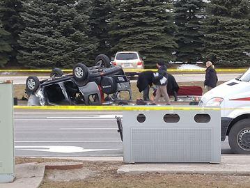 crash fatal Vaughan