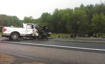 Highway 28 Collision July 7