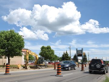Stevenson Road construction