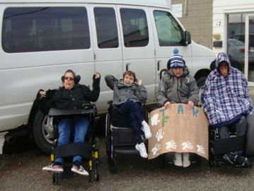 Community Living in desperate need of wheelchair accessible van valued at $70,000