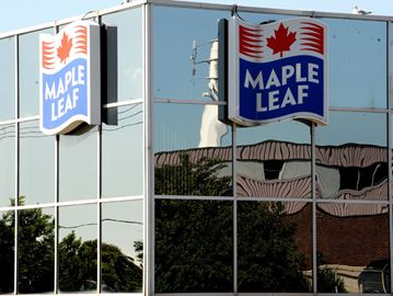 Maple Leaf Foods is planning on consolidating their cold cut meat operations in a new plant in Hamilton