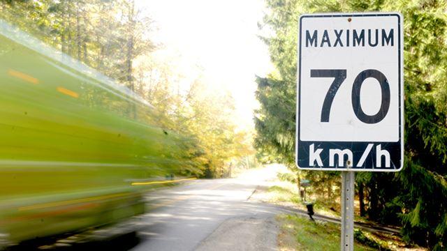 Stunt driving in Dufferin County