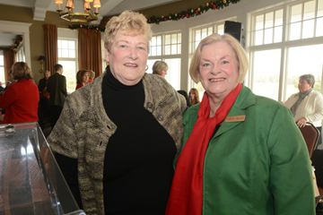Penny Reid, Chair, Board of Directors and Carole Nelles, emcee.