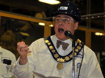 Shelburne Mayor Ed Crewson