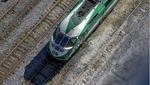 Woman struck by GO train