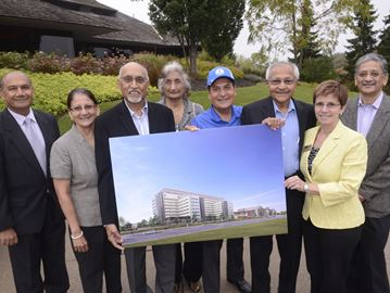 Gujarati community pledges $500K to new Oakville hospital