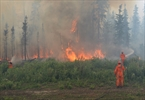 Wildfire threatening Saskatchewan town is stable-Image1