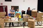 Food drive at South Carleton High School