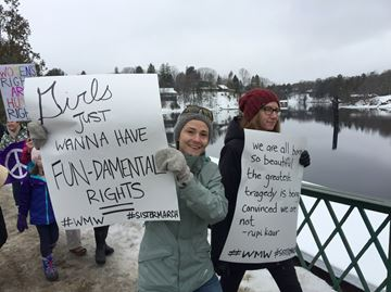 #SisterMarch