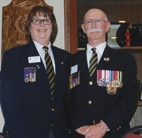 First woman Legion president