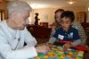Learning experiment sends kids to seniors' home in Barrie
