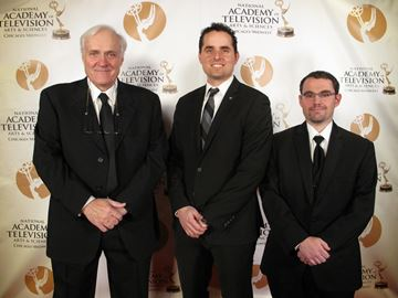 Oakville cinematographer wins Emmy for Best Photography