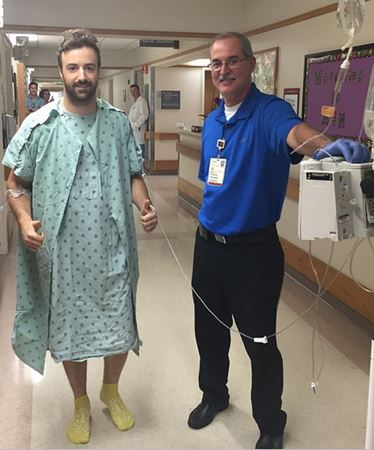 Hinchcliffe continues remarkable recovery from IndyCar crash