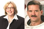 Chris Hadfield and Elizabeth May make book tour stops in Barrie