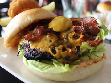 Collingwood burger a tangy choice