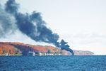 Boat fire forces Penetanguishene man to jump into Georgian Bay